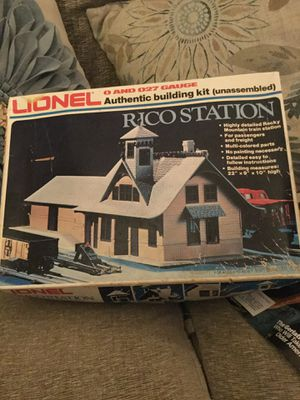Lionel Rico Station kit for Sale in Corona, CA