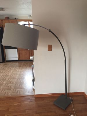 Like new floor lamp for Sale in Lowell, MA