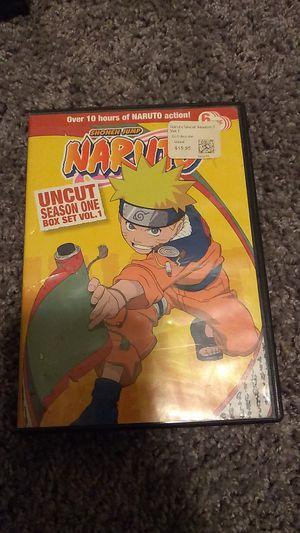 Naruto box set season 1 vol 1 for Sale in Fresno, CA
