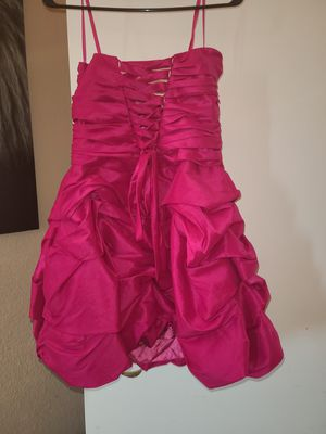 Gorgeous barbie hot pink dress for Sale in Rialto, CA