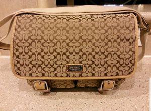 Coach messenger bag 85.00 for Sale in Pasadena, TX