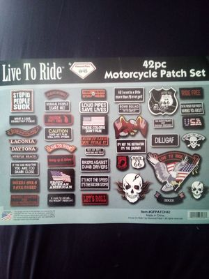 motorcycle vest patches for Sale in WARRENSVL HTS, OH