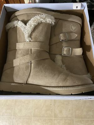 Tan boots for Sale in Boston, MA