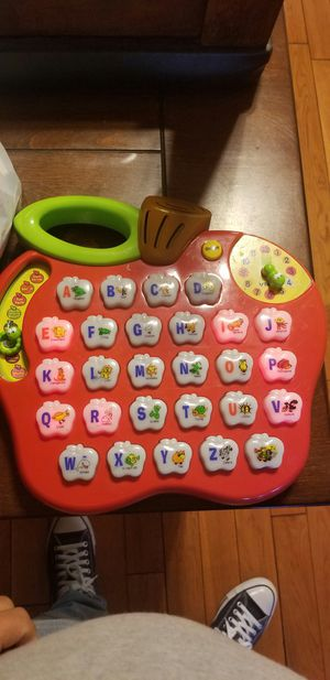 kids apple learning toy works perfect nothing wrong with it. for Sale in Los Angeles, CA