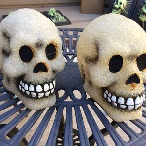 Battery operated skulls for Sale in Goodyear, AZ