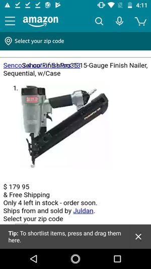 Senco Nail gun for Sale in Portland, OR