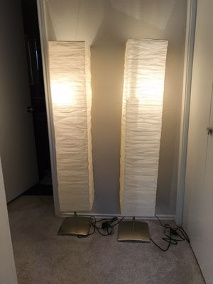 2 lamps for Sale in Irving, TX