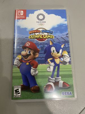Sonic and Mario for Nintendo Switch for Sale in Rocky River, OH