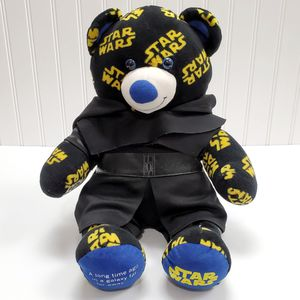 """Build A Bear Star Wars Logo 17"""" Teddy Plush Stuffed Animal with Kylo Ren Outfit for Sale in Roseville, CA"""