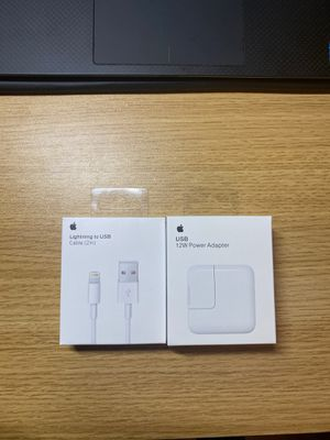 12w iPad charger and 2m lightning cable iPhone for Sale in Arcadia, CA