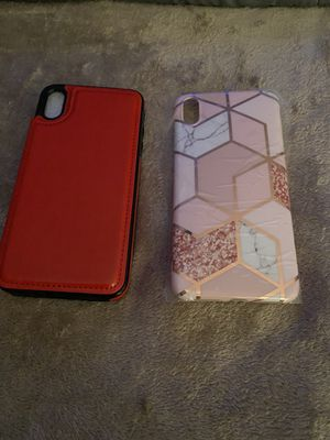 iPhone XS Max cases brand new for Sale in Parma, OH