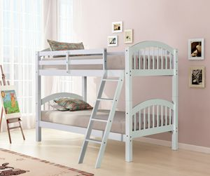 New White Twin/Twin bunk bed for Sale in Austin, TX