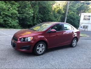 2012 Chevy Sonic turbocharged Runs Great sticks shift 6 speed for Sale in Stratford, CT