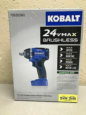 """Kobalt 24V Volt MAX Brushless 1/2"""" Impact Wrench BRAND NEW for Sale in Seattle, WA"""
