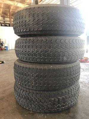 (4) ST205/75D14 trailer tires for Sale in Broussard, LA