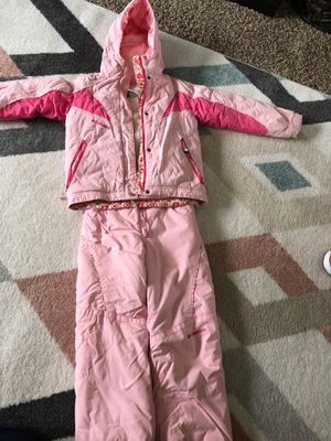 Columbia first size 6/6x snow suit. Coat and pants for Sale in Normal, IL