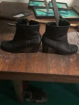 Woman black boots for Sale in Fresno, CA