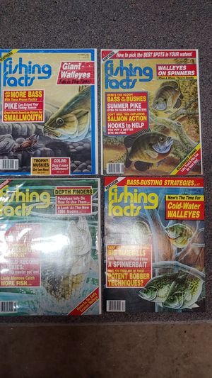 Old fishing magazines lure book for Sale in Bristol, CT