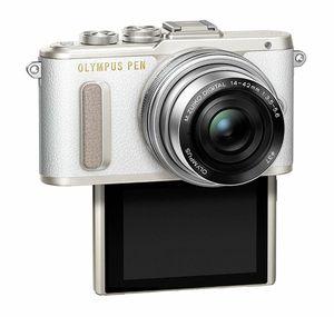 Olympus PEN E-PL8 Mirrorless Micro Four Thirds Digital Camera (White) Bundle for Sale in Vienna, VA