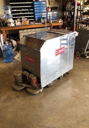 Clarke tb24 floor scrubber works for Sale in Tacoma, WA