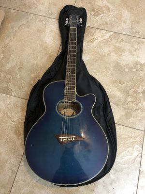 Dean Guitar Acoustic/ Electric with Guitar Bag for Sale in Henderson, NV