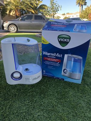 Vick warm mist humidifier. Pick up Henderson. Eastern x Horizon Ridge Area for Sale in Henderson, NV