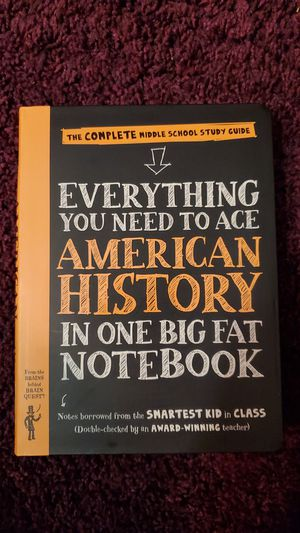 Everything you need to ace AMERICAN HISTORY IN ON NOTEBOOK for Sale in Brownsville, TX