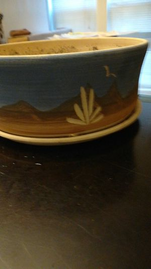 Flower pot approximately 5 1/2 Inches across the top for Sale in Indianapolis, IN