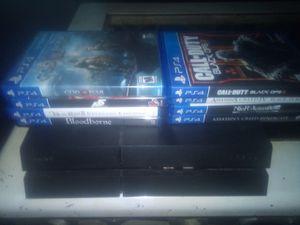 2TB PS4 w/ 20+ games for Sale in Wichita, KS