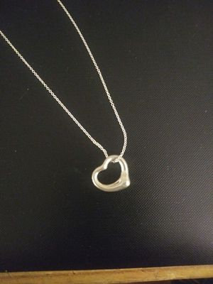 Tiffany & Co Silver Pendant 16in Chain Necklace for Sale in Surfside Beach, SC