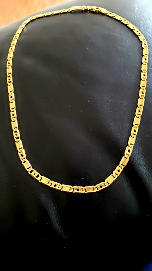 Unoaerre 18K Solid Italian Gold Chain for Sale in Springfield, VA