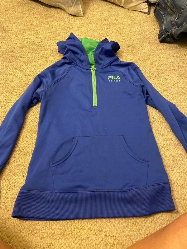 Fila Half-Zip Running Jacket, Size L (14) in Kids
