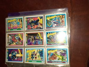Marvel comics collection cards bestoffer for Sale in Cheektowaga, NY