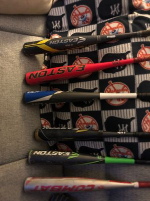 6 excellent bats used one season for Sale in Clinton, CT