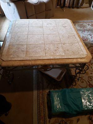 Coffee table 40x40 Risen top for Sale in San Jose, CA