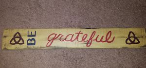 Be Grateful Wall Sign for Sale in Gaithersburg, MD