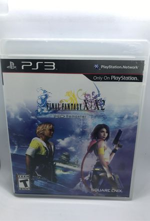 Final Fantasy X/X-2 HD Remaster Sony PlayStation 3 for Sale in Corona, CA
