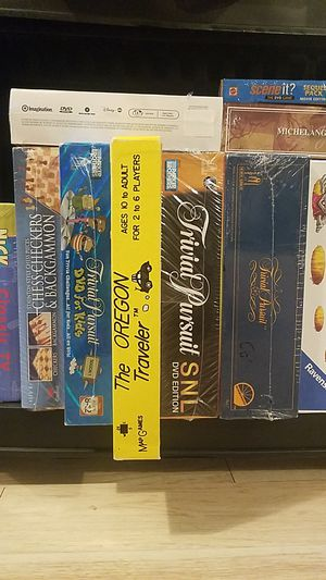 NEW BOARD GAMES AND PUZZLES for Sale in Oregon City, OR