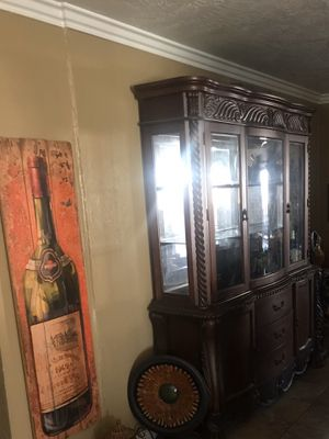 Dining room table and china cabinet set for Sale in San Diego, CA