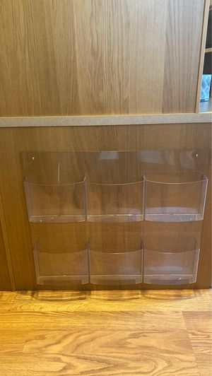 Magazine or informational 8 x 11 paper holder for Sale in Marysville, WA