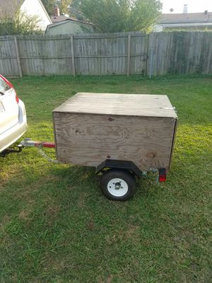 4ft trailer with title. for Sale in Norfolk, VA
