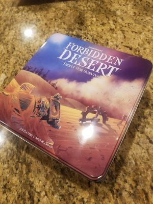 """Forbidden Desert: Thirst for Survival"" Board Game for Sale in Bowie, MD"