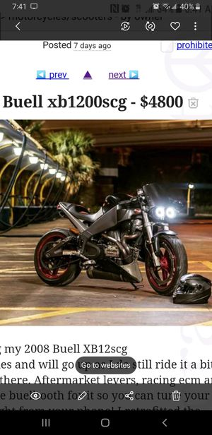 2008 buell xb12scg for Sale in Fort Worth, TX