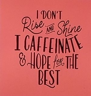 I don't rise and shine I caffeinated and hope for the best shirt for Sale in Richland, MS