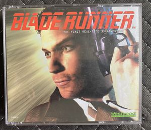 Blade Runner Westwood Computer PC CD-ROM Game 4 Disc Set w/ case, awesome condition with manuals for Sale in Bradenton, FL