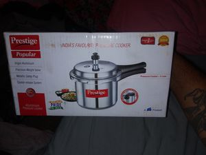 Prestige aluminum pressure cooker for Sale in Norwalk, CA
