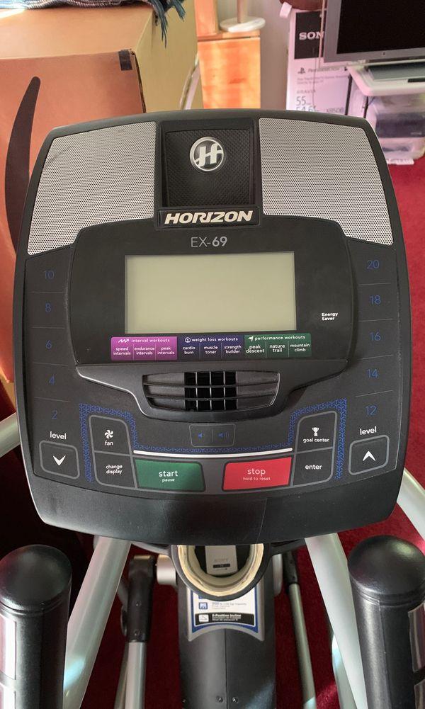 Horizon EX-69 Elliptical - Really good condition