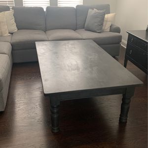 Black Coffee Table for Sale in Wake Forest, NC