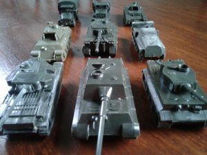 Vintage Lot DBGM Military Tanks Made in Austria....By ROCO... for Sale in Everett, WA