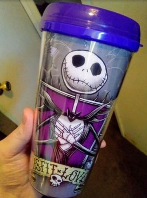 Disney Misfit Love Nightmare Before Christmas Thermal Mug for Sale in Fresno, CA